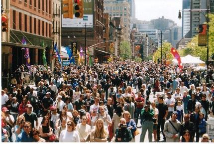Crowded-street