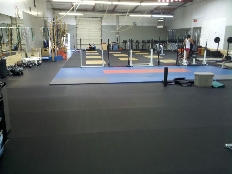 Crossfitfloor