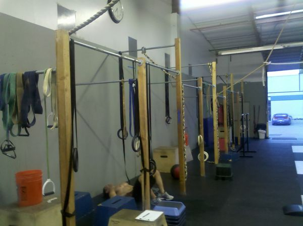 Crossfit One World Build Your Own Pull Up Structure