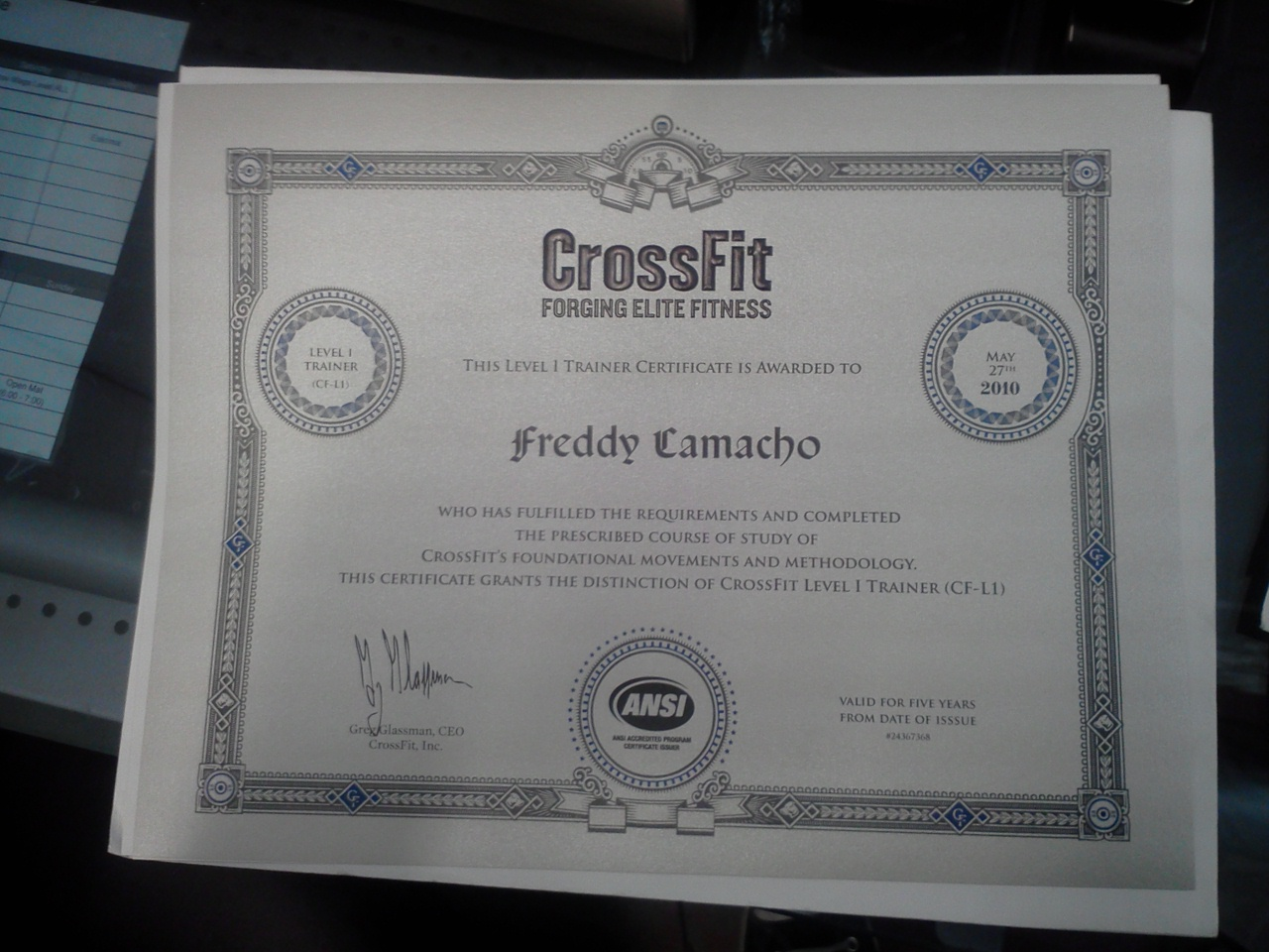 Cross Fit Certification Fitness And Workout