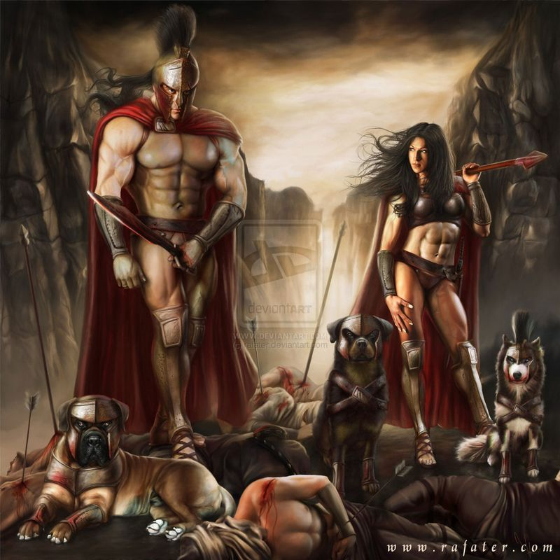 Spartan_douche