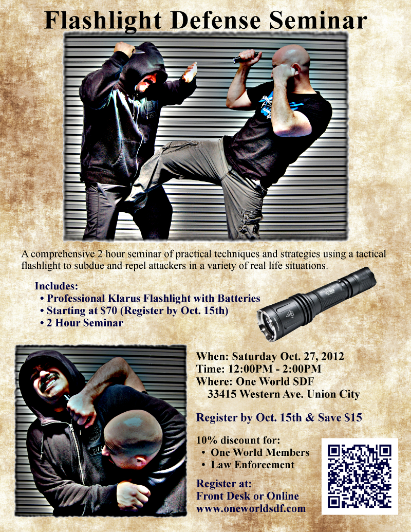 Flashlight Defense Seminar -4