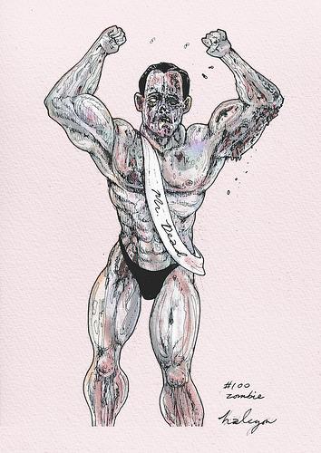 Zombie-bodybuilder