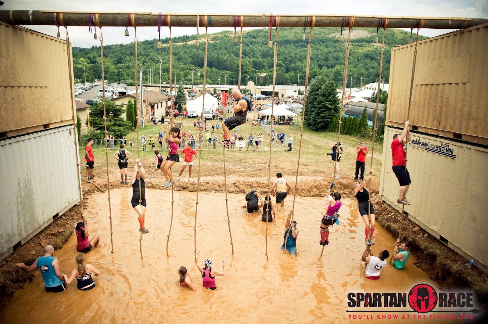 obstáculo de una spartan race